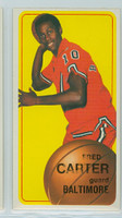 1970 Topps Basketball 129 Fred Carter ROOKIE Baltimore Bullets Excellent to Excellent Plus
