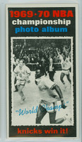 1970 Topps Basketball 175 Knicks Celebrate Excellent to Mint