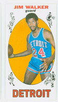 1969 Topps Basketball 8 Jim Walker ROOKIE Detroit Pistons Excellent to Mint