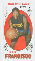 1969 Topps Basketball 36 Ron Williams San Francisco Warriors Excellent to Mint