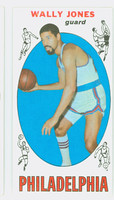1969 Topps Basketball 54 Wally Jones ROOKIE Philadelphia 76ers Excellent to Mint