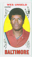1969 Topps Basketball 56 Wes Unseld ROOKIE Baltimore Bullets Excellent to Mint