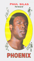 1969 Topps Basketball 61 Paul Silas ROOKIE Pheonix Suns Excellent to Mint