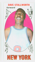 1969 Topps Basketball 74 Dave Stallworth ROOKIE New York Knicks Excellent to Mint