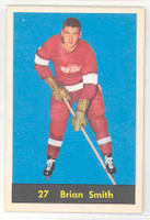 1960-61 Parkhurst 27 Brian Smith Detroit Red Wings Near-Mint