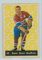 1961-62 Parkhurst Hockey 35 Boom Boom Geoffrion Montreal Canadiens Excellent to Mint
