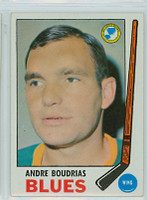 1969-70 Topps Hockey 16 Andre Boudrias St. Louis Blues Excellent to Mint