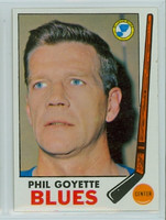 1969-70 Topps Hockey 21 Phil Goyette St. Louis Blues Good to Very Good