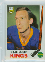 1969-70 Topps Hockey 100 Dale Rolfe Los Angeles Kings Excellent to Mint