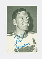 1970-71 OPC Deckle Inserts 25 Red Berenson St. Louis Blues Near-Mint to Mint
