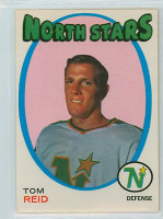 1971-72 OPC Hockey 21 Tom Reid Minnesota North Stars Excellent to Mint
