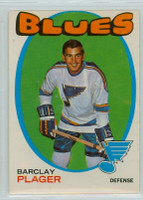 1971-72 OPC Hockey 66 Barclay Plager St. Louis Blues Excellent