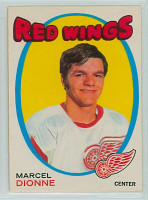 1971-72 OPC Hockey 133 Marcel Dionne Detroit Red Wings Excellent to Mint