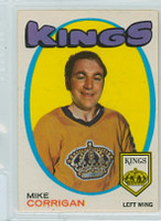 1971-72 OPC Hockey 157 Mike Corrigan Los Angeles Kings Excellent to Mint