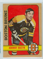 1972-73 OPC Hockey 1 Johnny Bucyk Boston Bruins Excellent to Mint