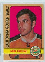 1972-73 OPC Hockey 3 Gary Croteau California Seals Near-Mint