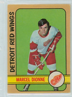 1972-73 OPC Hockey 8 Marcel Dionne Detroit Red Wings Excellent