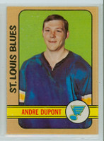 1972-73 OPC Hockey 16 Andre Dupont ROOKIE St. Louis Blues Near-Mint