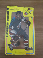 1975 Stand Up Hockey Eddie Westfall New York Islanders Near-Mint to Mint