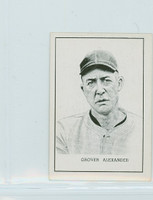 1950 Callahan HOF Grover Alexander Philadelphia Phillies Excellent