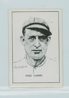 1950 Callahan HOF Fred Clarke Pittsburgh Pirates Near-Mint to Mint