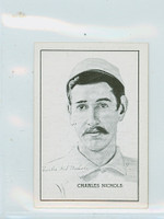 1950 Callahan HOF Charles Nichols Excellent to Mint