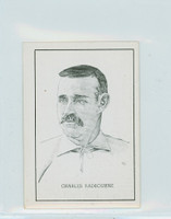 1950 Callahan HOF Charles Radbourne Excellent to Mint
