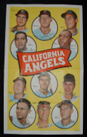 1969 Topps Team Posters 17 Angels Team Near-Mint