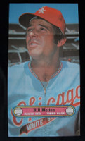 1972 Topps Posters 3 Bill Melton Chicago White Sox Near-Mint to Mint