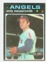 1971 Topps Baseball 15 Andy Messersmith California Angels Excellent to Mint