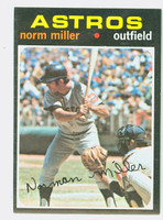 1971 Topps Baseball 18 Norm Miller Houston Astros Excellent to Mint