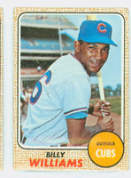 1968 Topps Baseball 37 Billy Williams Chicago Cubs Fair to Good