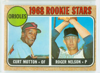 1968 Topps Baseball 549 Orioles Rookies High Number Excellent to Excellent Plus