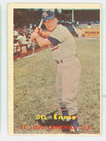 1957 Topps Baseball 260 Del Ennis St. Louis Cardinals Very Good