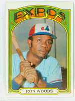 1972 Topps Baseball 82 Ron Woods Montreal Expos Near-Mint