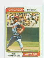 1974 Topps Baseball 542 Rich Gossage Chicago White Sox Excellent to Mint