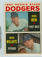1964 Topps Baseball 14 Dodgers Rookies Excellent to Mint