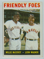 1964 Topps Baseball 41 Friendly Foes Excellent