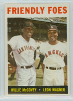 1964 Topps Baseball 41 Friendly Foes Excellent to Mint