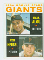 1964 Topps Baseball 47 Giants Rookies Very Good to Excellent