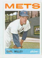 1964 Topps Baseball 84 Carl Willey New York Mets Excellent