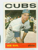1964 Topps Baseball 96 Bob Buhl Chicago Cubs Excellent
