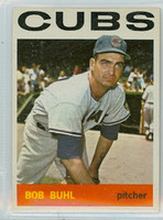 1964 Topps Baseball 96 Bob Buhl Chicago Cubs Excellent to Mint
