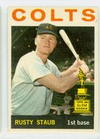 1964 Topps Baseball 109 Rusty Staub Houston Colts Excellent