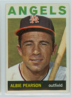 1964 Topps Baseball 110 Albie Pearson California Angels Excellent to Mint