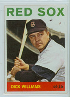 1964 Topps Baseball 153 Dick Williams Boston Red Sox Excellent to Mint
