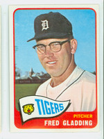 1965 Topps Baseball 37 Fred Gladding Detroit Tigers Excellent to Mint