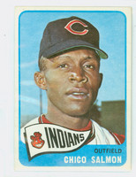 1965 Topps Baseball 105 Chico Salmon Cleveland Indians Excellent to Mint
