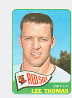 1965 Topps Baseball 111 Lee Thomas Boston Red Sox Excellent to Mint