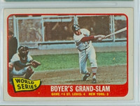 1965 Topps Baseball 135 World Series GM 4 Very Good to Excellent